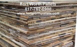 Wall Covering 28-inch Reclaimed Pallet Board