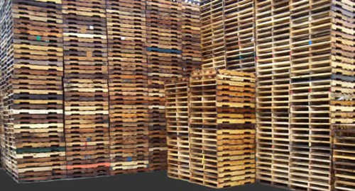48 x 40 Used Wood Pallet 4-Way A-Grade